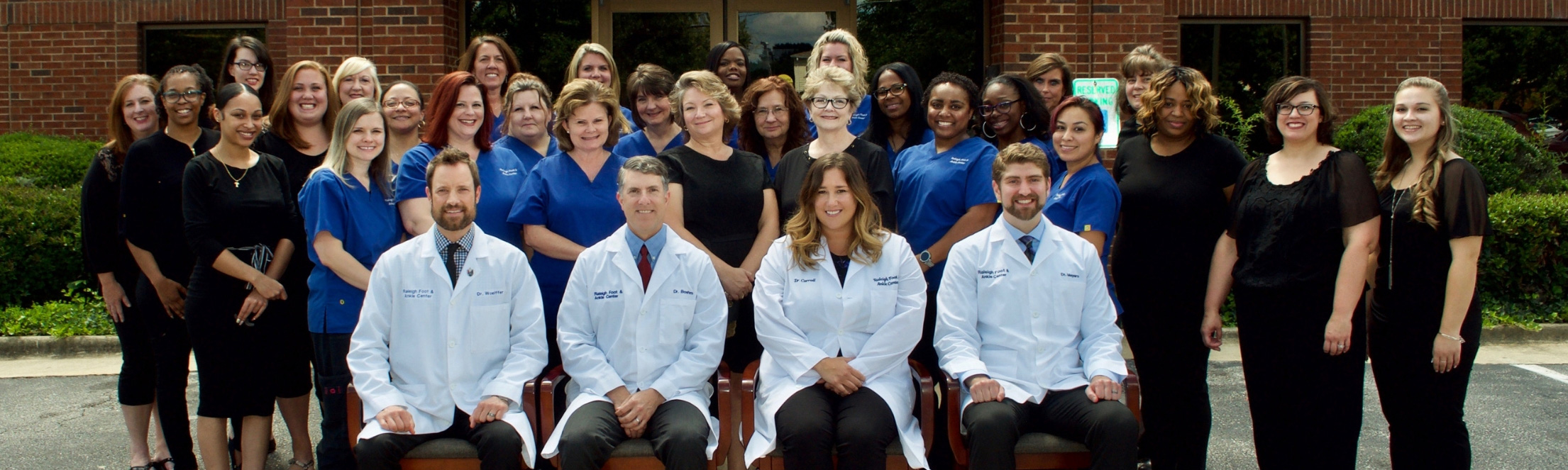 Raleigh Foot & Ankle Center - Clinical & Administrative Staff